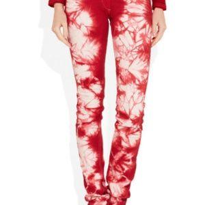 Isabel Marant Itzel Tie Dye Skinny Jeans